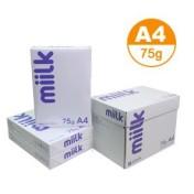 한국 밀크 복사용지 75g A4  2BOX