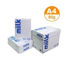 한국 밀크 복사용지 80g A4  1BOX